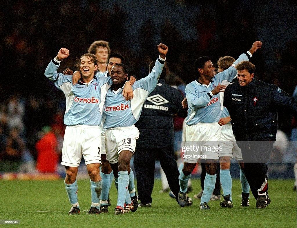 Celta Vigo celebrates : News Photo