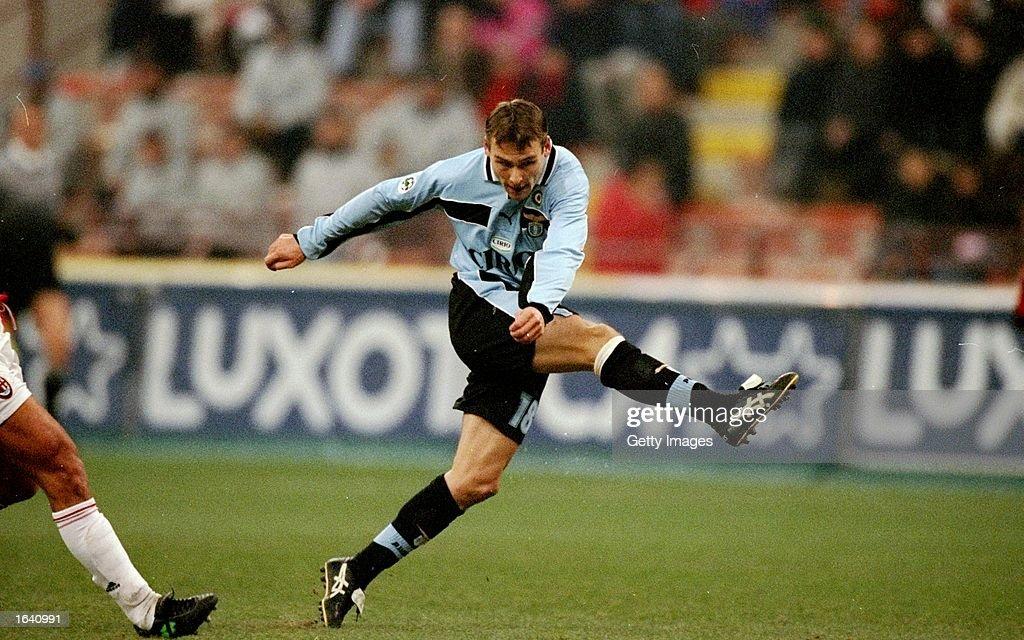 Milan v Lazio Pavel Nedved of Lazio : News Photo