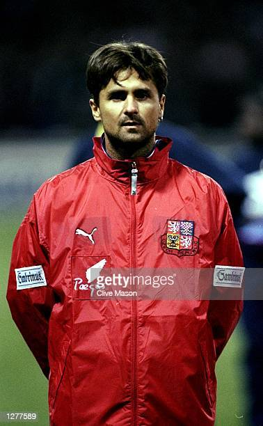 Portrait of Jiri Novotny of the Czech Republic lining up for the International friendly against England at Wembley in London Mandatory Credit Clive...