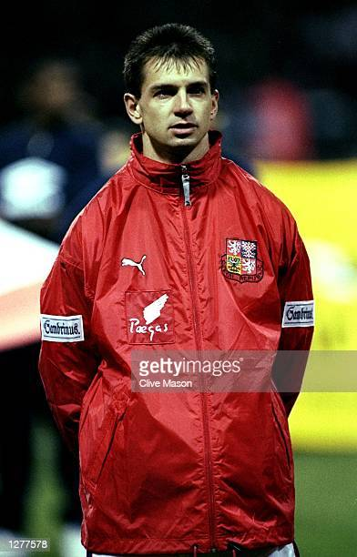 Portrait of Pavel Kuka of the Czech Republic lining up for the International friendly against England at Wembley in London Mandatory Credit Clive...