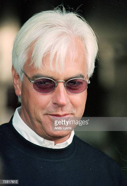 A close up of Bob Baffert during the Breeders Cup training at the Gulfstream Park in Hallandale Beach Florida Mandatory Credit Andy Lyons /Allsport