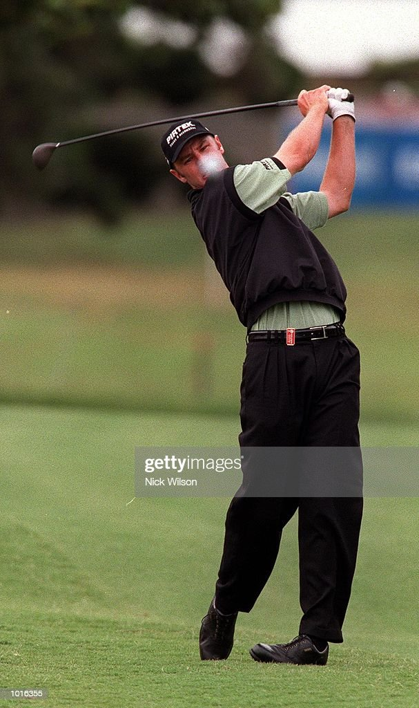 Brendan Jones of Australia in action during the third round at the Australian Open golf at the The Royal Sydney Golf Course, Sydney, Australia. Mandatory Credit: Nick Wilson/ALLSPORT