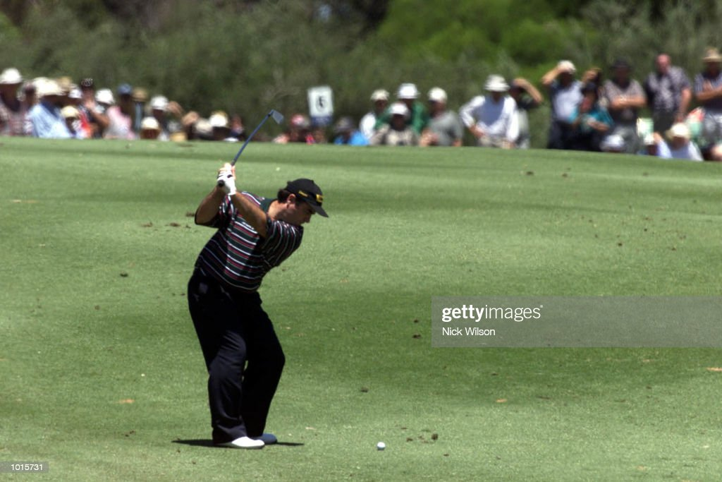 19 Nov 1999 Craig Parry of Australia plays his second shot on the par four 6th at the Kooyonga G.C during the Ford Open Championship,Adelaide, Australia. Mandatory Credit: Nick Wilson/ALLSPORT