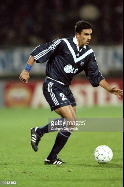 David Jemmali of Bordeaux in action during the UEFA Champions League Group G match against Willem II played at the Willem II Stadion in Tilburg...