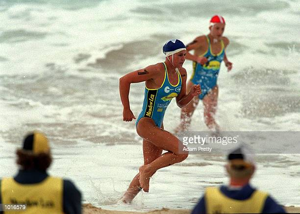 Karla Gilbert of Australia in action during the Meadow Lea IronWoman during the One Summer Series at North Cronulla Beach Sydney New South Wales...