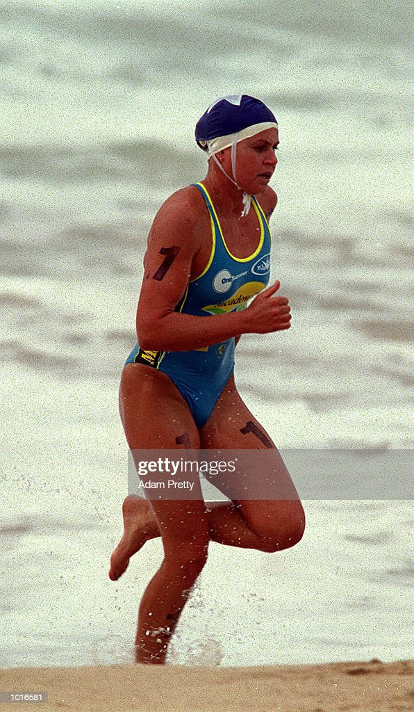 Karla Gilbert of Australia in action during the Meadow Lea IronWoman during the One Summer Series at North Cronulla Beach, Sydney, New South Wales, Australia. Mandatory Credit: Adam Pretty/ALLSPORT