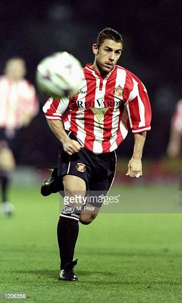 Kevin Phillips of Sunderland on the ball during the FA Carling Premiership match against Watford at Vicarage Road in Watford England Sunderland won...
