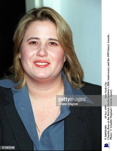 Nov 1999 New York City Chastity Bono At The HetrickMartin Institute's 20Th Anniversary And The 1999 Emery Awards