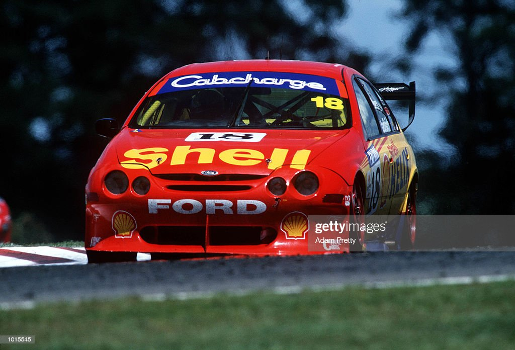 Paul Radisich from Shell Helix racing team in action during the Bathurst FAI 1000 at Mount Panorama, Bathurst Australia. Mandatory Credit: Adam Pretty/ALLSPORT