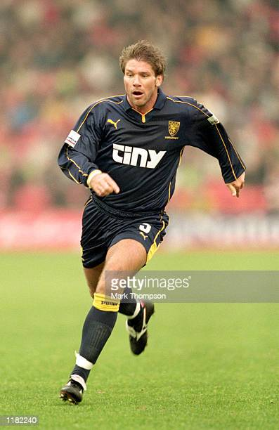 Alan Kimble of Wimbledon during the Nationwide League Division One match against Barnsley at Oakwell in Barnsley, England. Wimbledon won 1-0. \...