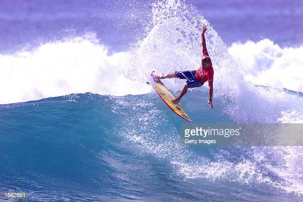 Billabong Junior World Championships Makaha Hawaii Australian Matt Thompson beat Kepa Acero and Brad Mommsen in round one of the Billabong Junior...