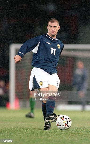 Dominic Matteo of Scotland in action during the International Friendly match against Australia played at Hampden Park, in Glasgow, Scotland....
