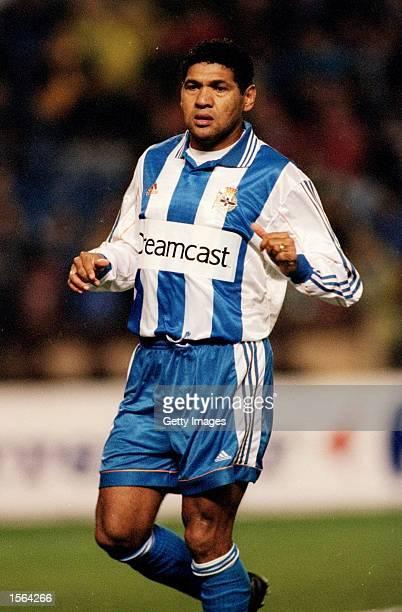 Donato of Deportivo la Coruna during the Spanish Primera Liga match against Celta Vigo at the Estadio Municipal de Riazor in La Coruna, Spain. \ Pic:...