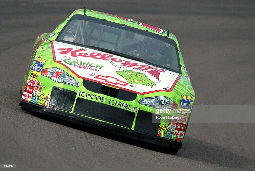 Driver Terry Labonte Who Drives A Chevrolet Monte Carlo For Hendricks Nachrichtenfoto Getty Images