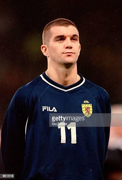 Portrait of Dominic Matteo of Scotland before the International Friendly match against Australia at Hampden Park in Glasgow, Scotland. \ Mandatory...