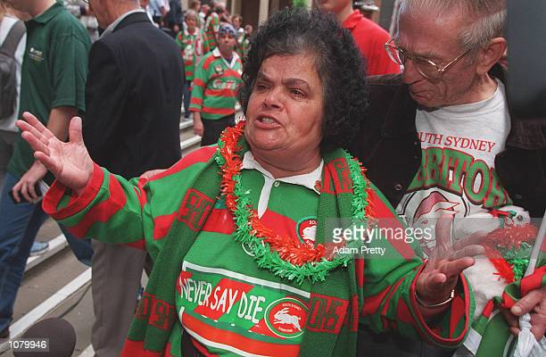South Sydney supporters are devestated after the Supreme court upheld the National Rugby League's decision to exclude the South Sydney Rabbitohs from...