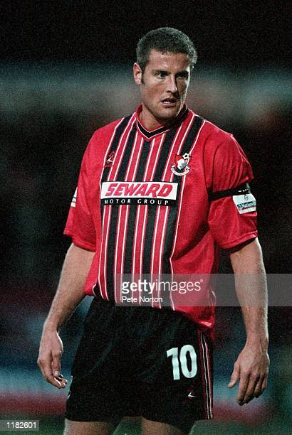 Steve Fletcher of AFC Bournemouth in action during the Nationwide League Division Two match against Northampton Town played at the Sixfields Stadium...