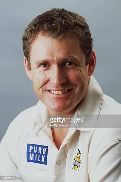 Tom Moody of Western Australia poses for a portrait headshot during a photocall in Perth Australia Mandatory Credit Allsport Australia/ALLSPORT