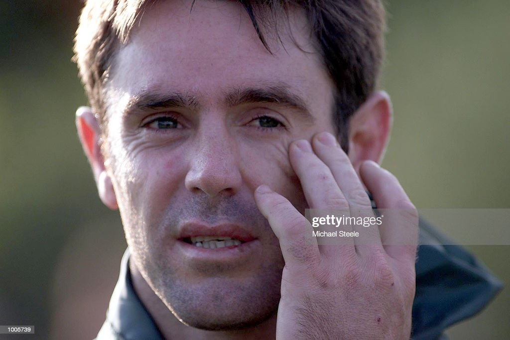 Captain Brad Fittler of Australia during practice at Kirklees, Leeds, as they prepare for the Second Ashes Test against Great Britain. DIGITAL IMAGE.. Mandatory Credit: Michael Steele/ALLSPORT