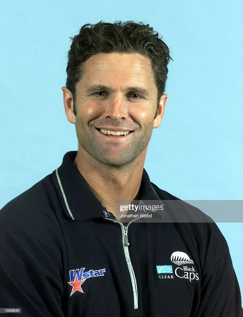 Chris Cairns of the New Zealand Black Caps cricket team poses for a photogragh at the Gabba, Brisbane, Australia. DIGITAL IMAGE Mandatory Credit: Jonathan Wood/ALLSPORT