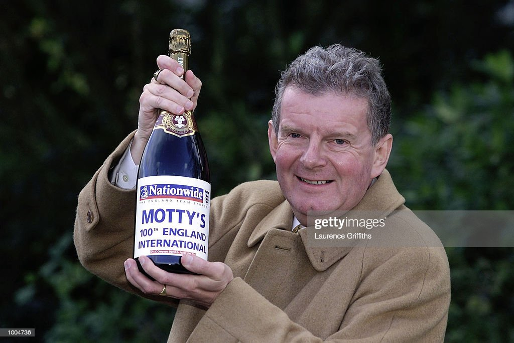 Commentator John Motson in relaxed mood as he prepares to commentate on his 100th England International, the England v Sweden friendly match to be played at Old Trafford in Manchester. DIGITAL IMAGE. Mandatory Credit: Laurence Griffiths/ALLSPORT