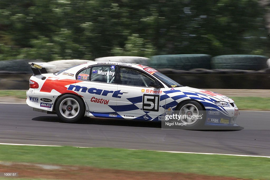 Commodore VX driver Greg Murphy #51 slows down for the Holden Hairpin during race 2 of round 12 of the Shell championship series at Pukekohe Park Raceway, south of Auckland, New Zealand. Murphy won all 3 races this weekend to be the outright round 12 winner. Mandatory Credit: Nigel Marple/ALLSPORT