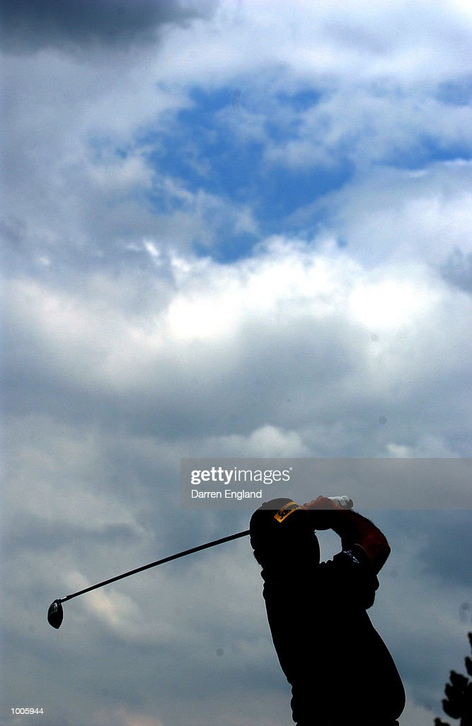 Craig Parry of Australia tees off on the 9th tee during the second round of the Australian PGA Championship being played at Royal Queensland Golf Club in Brisbane, Australia. He finished his round at nine under par. DIGITAL IMAGE. Mandatory Credit: Darren England/ALLSPORT