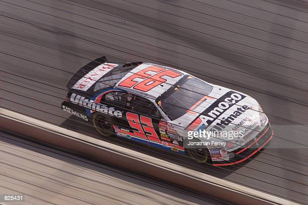 Dave Blaney driving the Bill Davis Racing Dodge Intrepid R/T during the NASCAR Winston Cup NAPA 500 at the Atlanta Motor Speedway in Hampton,...