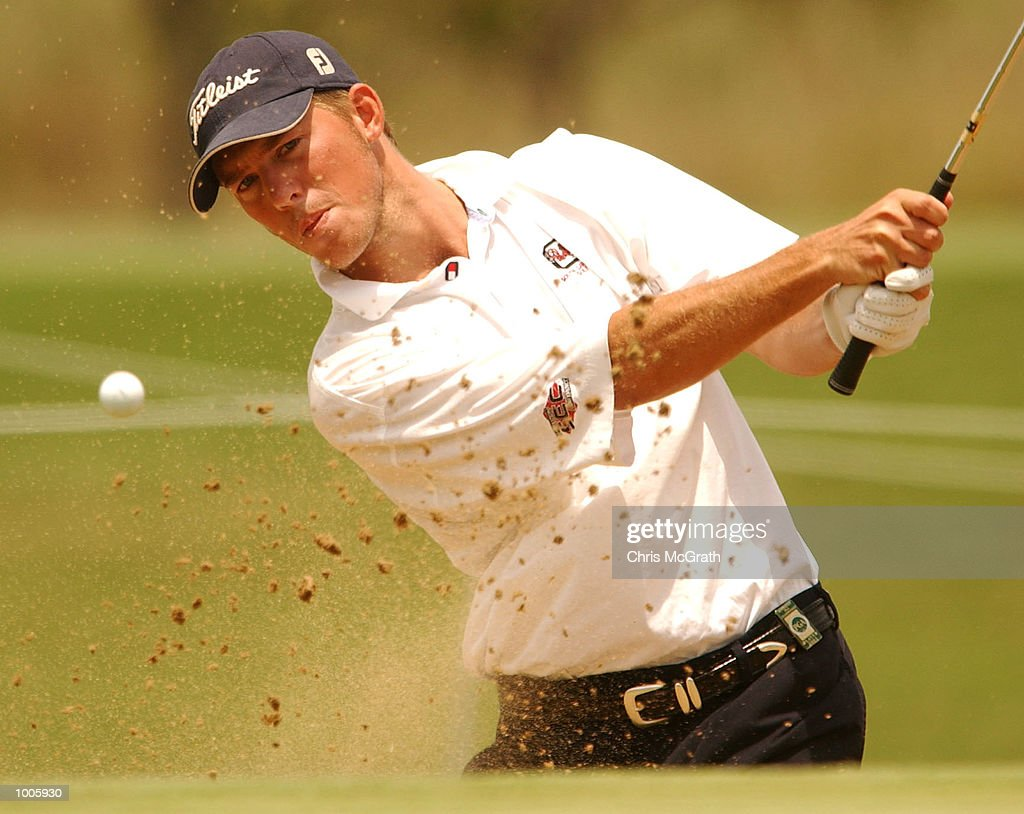 Ernie Rose of Australia in action during the second round of the Australian PGA Championships being played at Royal Queensland Golf Club, Brisbane, Australia. DIGITAL IMAGE Mandatory Credit: Chris McGrath/ALLSPORT