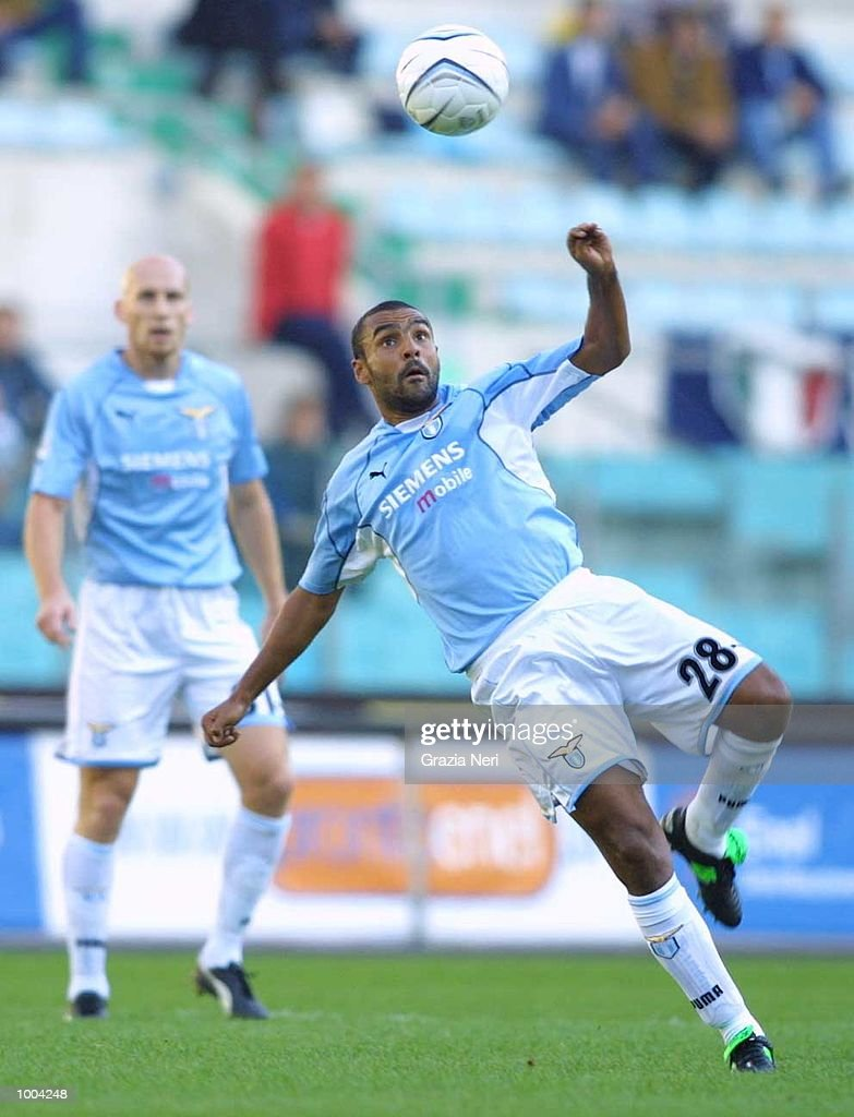 Fabio Liverani of Lazio in action during the Serie A match between Lazio and Brescia, played at the Olympic Stadium, Rome. DIGITAL IMAGE Mandatory Credit: Grazia Neri/ALLSPORT