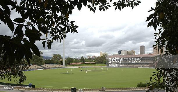 General view of Adelaide Oval during the Pura Cup match between the Southern Redbacks and the Western Warriors played in Adelaide Australia Digital...