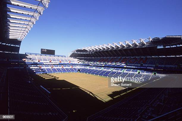 General view of the Taejon World Cup Stadium which will be one of the venues for the FIFA World Cup Finals 2002 in Taejon, Korea. \ Mandatory Credit:...