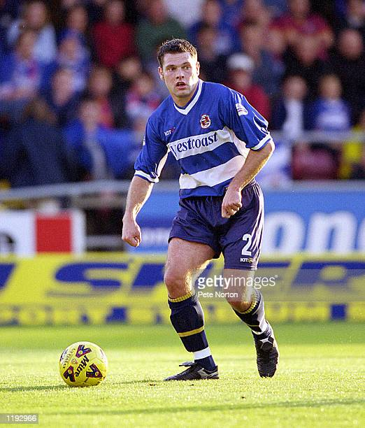 Graeme Murty of Reading in action during the Nationwide League Division Two match played between Northampton Town and Reading at the Sixfields...