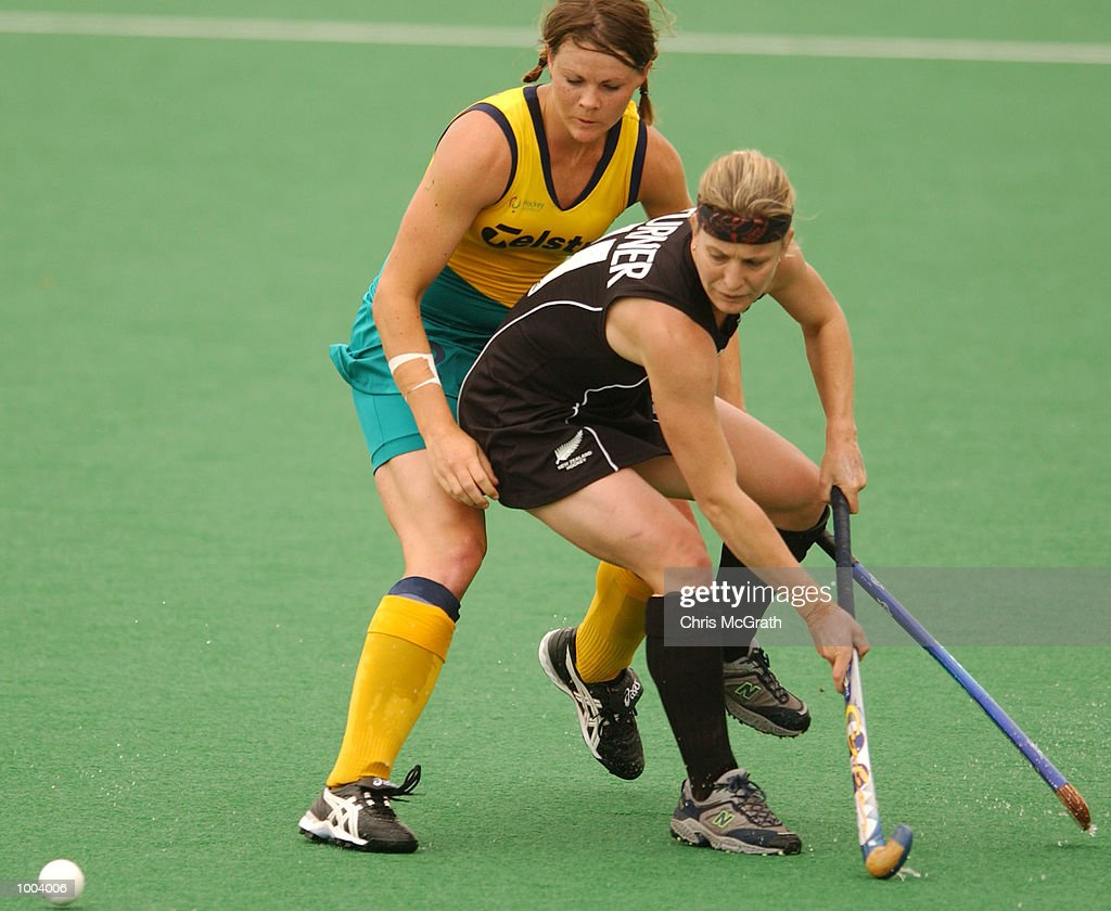 Michelle Turner #11 of New Zealand in action during the third hockey test match between the Australian Hockeyroos and the New Zealand Black Sticks held at the Sydney Hockey Centre, Homebush Bay, Sydney, Australia. DIGITAL IMAGE Mandatory Credit: Chris McGrath/ALLSPORT