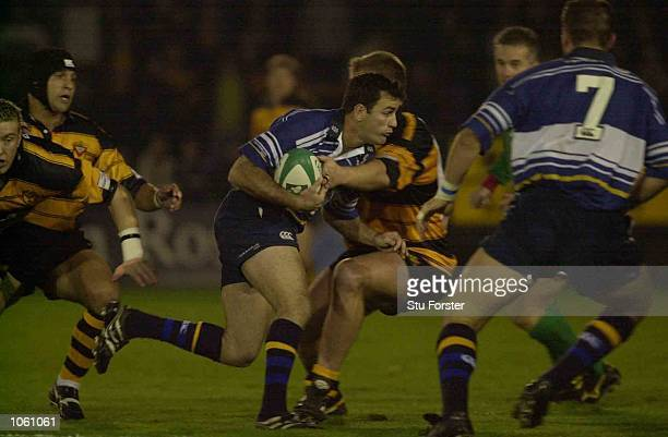 Nathan Spooner of Leinster in action during the Heineken Cup Pool Six Match between Newport and Leinster at Rodney Parade Newport DIGITAL IMAGE...