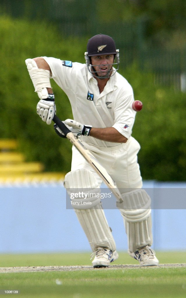 New Zealand batsman Mark Richardson in action in the match between South Australia and New Zealand played at Adelaide Oval in Adelaide, Australia. Digital Image. Mandatory Credit: Tony Lewis/ALLSPORT