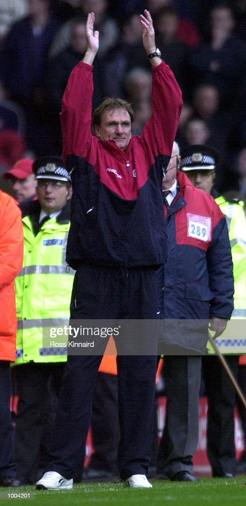 Phil Thompson of Liverpool after the FA Barclaycard Premiership game between Liverpool and Manchester United at Anfield, Liverpool. Mandatory Credit: Ross Kinnaird/ALLSPORT