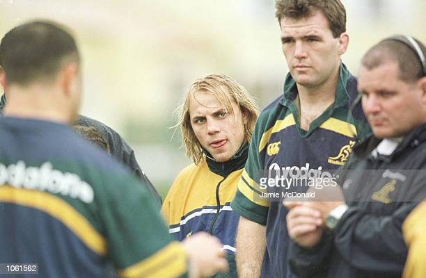 Phil Waugh of Australia regains his place in the Australian team to face France on Saturday Stade de Bandol Bandol France Mandatory Credit Jamie...