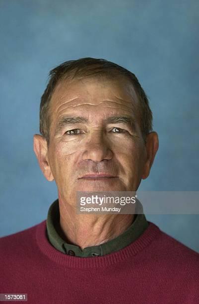 Portrait of Manuel Velasco of Spain at the 2001 PGA European Seniors Tour Qualifying School Pestana Golf Resort Carvoeiro Portugal DIGITAL IMAGE...