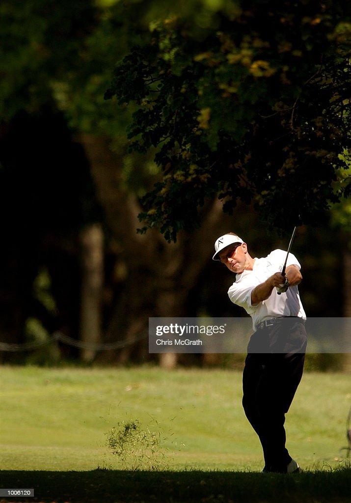 Robert Allenby of Australia in action during the third round of the Australian PGA Championships being played at Royal Queensland Golf Club, Brisbane, Australia. DIGITAL IMAGE Mandatory Credit: Chris McGrath/ALLSPORT