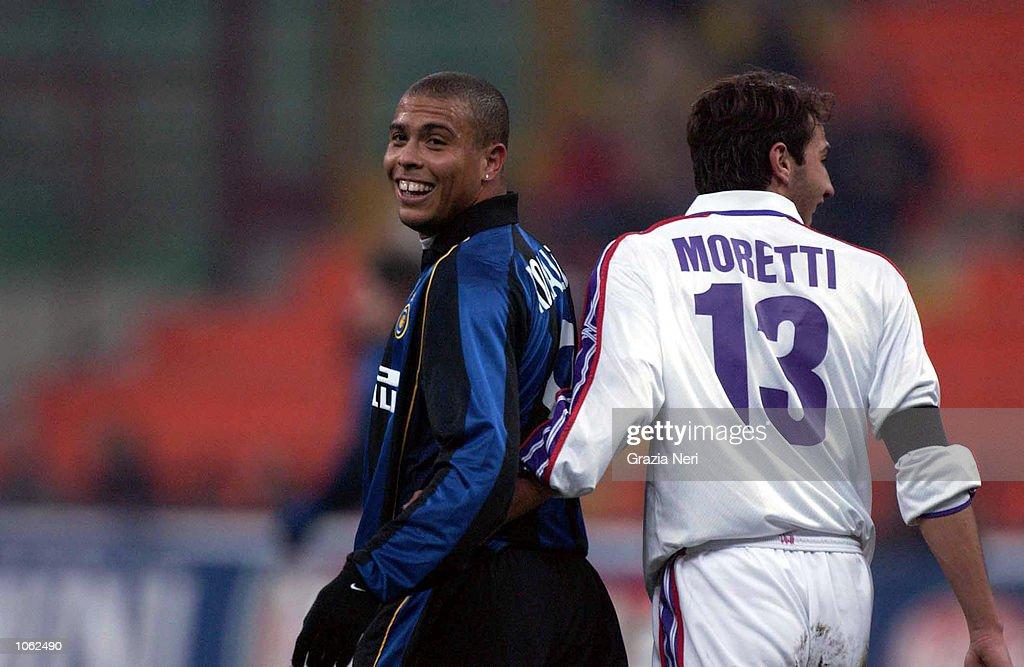 Inter v FiorentinaX : ニュース写真