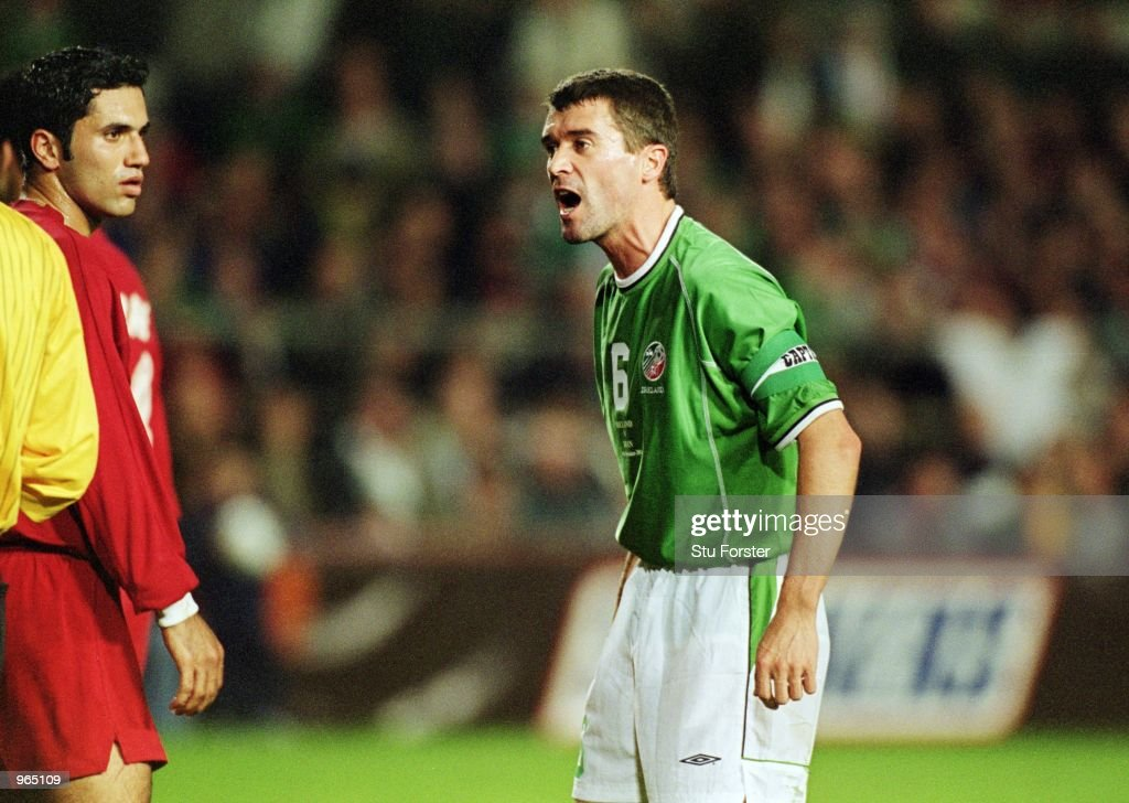 Roy Keane : News Photo