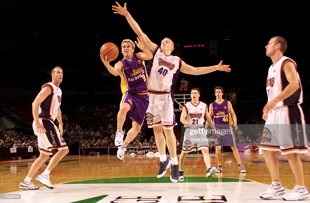 Shane Heal #23 of the Kings in action during the Sydney Kings v Cairns Taipans match held at the Sydney Superdome in Sydney, Australia. DIGITAL IMAGE. Mandatory Credit: Scott Barbour/ALLSPORT