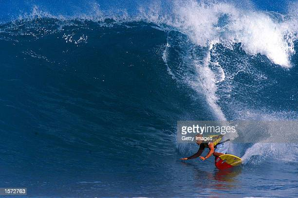 The Bear Hawaiian Pro Longboard Invitational held at Alii Beach in Hawaii from November 1325 2001 Former South African surfing champion Jason Ribbink...
