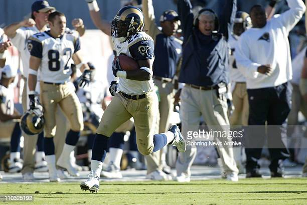 Travis Fisher of the St Louis Rams during the Rams 3027 victory over the Arizona Cardinals at Sun Devil Stadium in Tempe AZ
