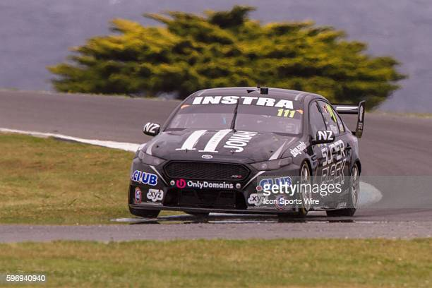 Andre Heimgartner of Super Black Racing during qualifying for the V8 Supercars WD40 Philip Island Supersprint held at Philip Island Circuit Philip...