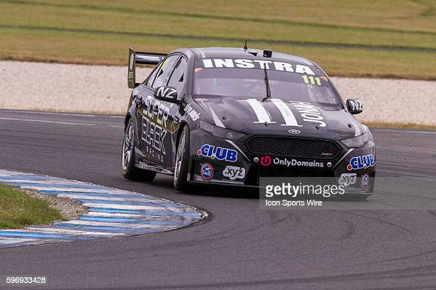 Andre Heimgartner of Super Black Racing during Race 1 for the V8 Supercars WD40 Philip Island Supersprint held at Philip Island Circuit Philip Island...