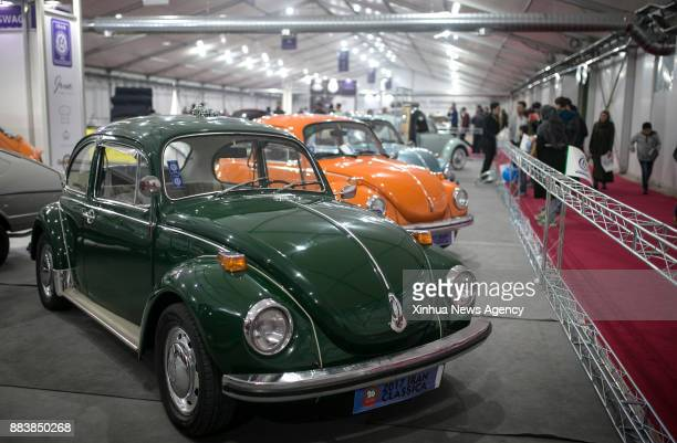 TEHRAN Nov 30 2017 People visit the Tehran International Auto Show in Tehran capital of Iran on Nov 29 2017 Tehran Auto Show 2017 is one of the...