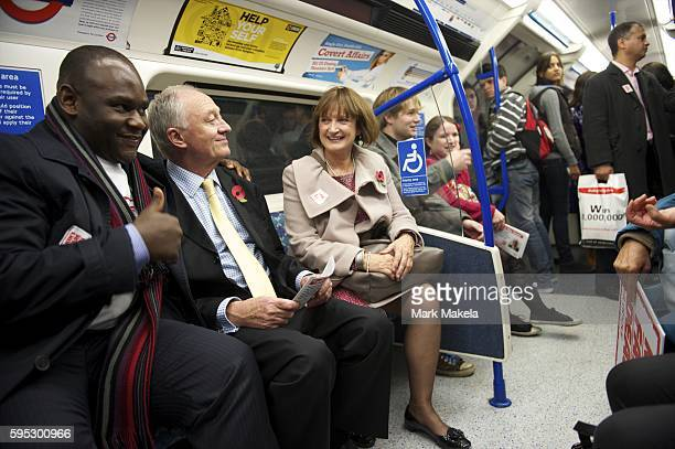 Nov 8 2011 London England UK Joined by Shadow Minister of the Olympics TESSA JOWELL London mayoral candidate KEN LIVINGSTONE held a day of action...