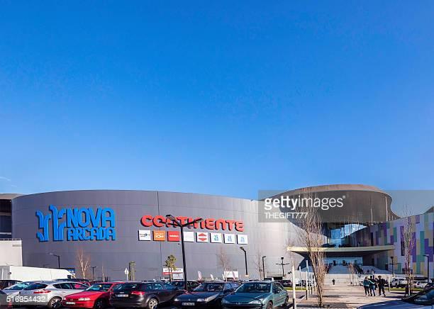 Nova Arcada shopping mall in Braga, Portugal